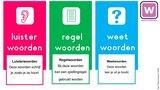 1P / 1F Buffelwerk spellingcategorieën - Docentenhandleiding (Wire-O)  _